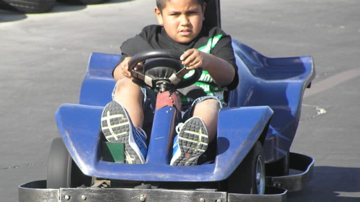 Race Friends and Family at our Go-Kart Track!