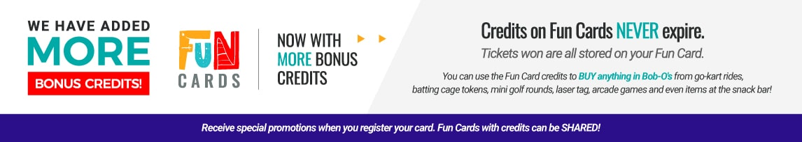 bobo-o's new fun cards more bonus credits